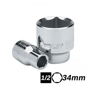 Bocallave Hexagonal Encastre 1/2 de 34mm Stanley
