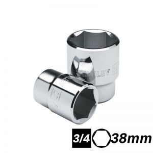 Bocallave Hexagonal Encastre 3/4 de 38mm Stanley
