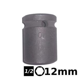 Bocallave hexagonal de impacto 1/2 12mm Crossmaster