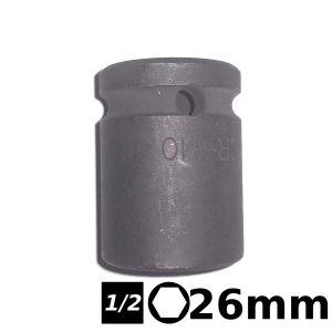 Bocallave hexagonal de impacto 1/2 26mm Crossmaster
