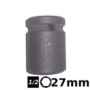 Bocallave hexagonal de impacto 1/2 27mm Crossmaster