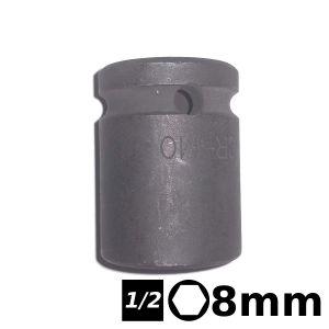 Bocallave hexagonal de impacto 1/2 8mm Crossmaster