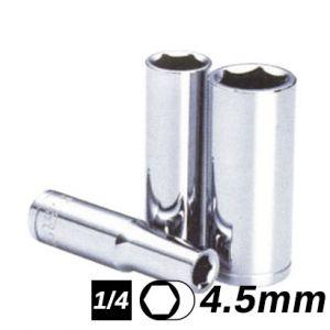 Bocallave Hexagonal Larga encastre 1/4 4.5mm Crossmaster