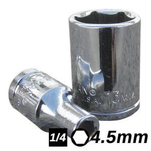 Bocallave Hexagonal encastre 1/4 4.5mm Crossmaster