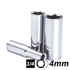 Bocallave Hexagonal Larga encastre 1/4 4mm Crossmaster