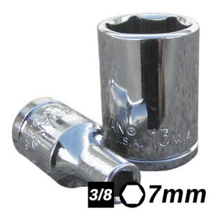 Bocallave Hexagonal encastre 3/8 7mm Crossmaster