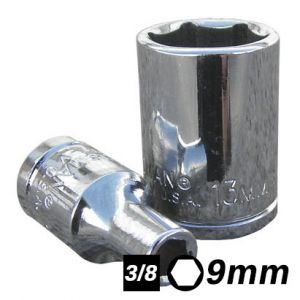 Bocallave Hexagonal encastre 3/8 9mm Crossmaster