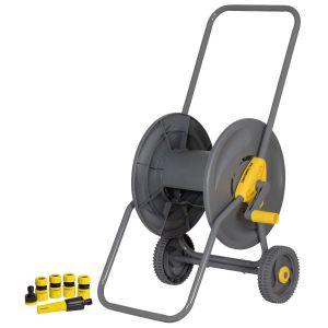 Carro Enrolla Manguera 2 ruedas con accesorios Crossmaster