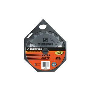 Disco para Sierra Circular 185 X 3,2 X 16mm de 40 Dientes Dowen Pagio
