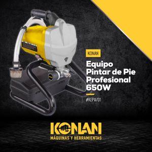 Equipo de Pintar de Pie Profesional 650W Konan