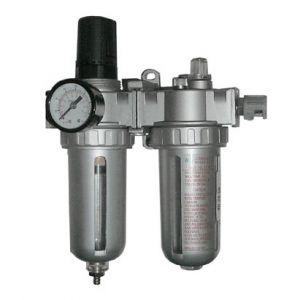 Filtro Regulador y Lubricador 1/4 con manómetro BTA