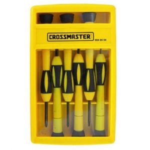Juego de Destornilladores para Electrónica Crossmaster