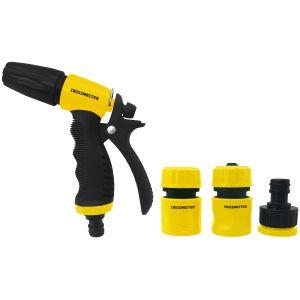 Kit Pistola para Riego Ajustable con accesorios Crossmaster