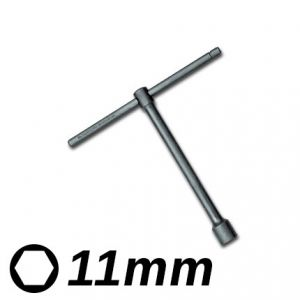 Llave T Corta 11mm Eurotech