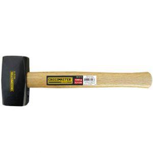Maza de Acero con cabo de madera de 800grs Crossmaster
