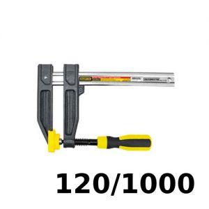Prensa tipo F para carpintero 120x1000mm Crossmaster