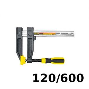 Prensa tipo F para carpintero 120x600mm Crossmaster