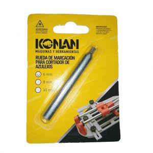 Lápiz/Rueda de Marcación para cortadora de cerámicos 6 mm Konan