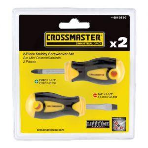 Set de Mini Destornilladores 2 Piezas Crossmaster