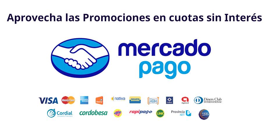 MercadoPago - Cuotas sin interés